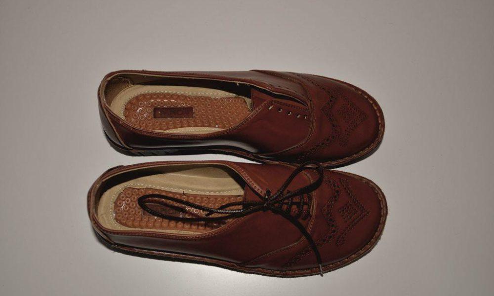 کفش طبی بندار قهوهای