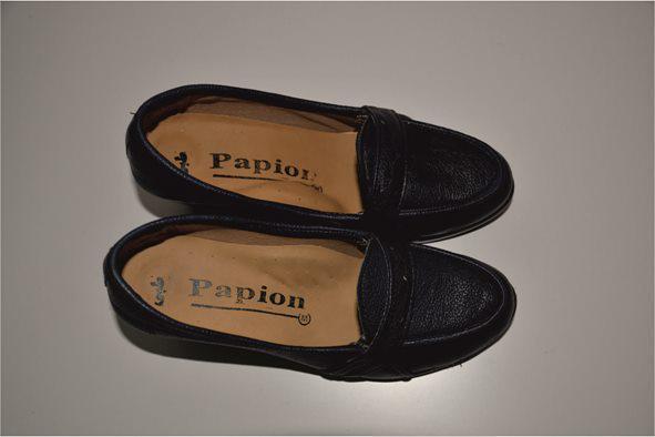 کفش اداری ارزان سرمه ای