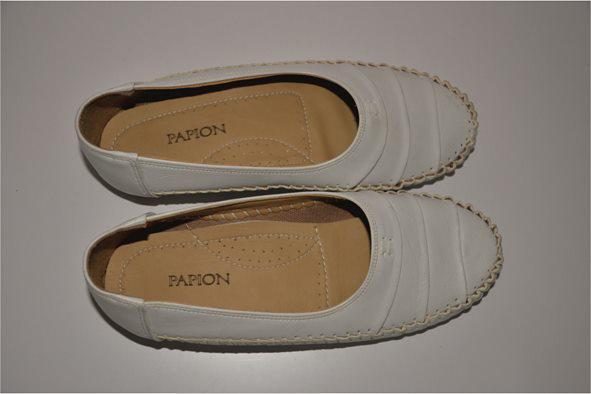 کفش اداری دخترانه سفید
