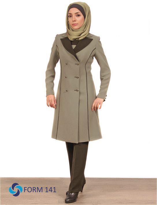 لباس فرم اداری زنانه لچک دار